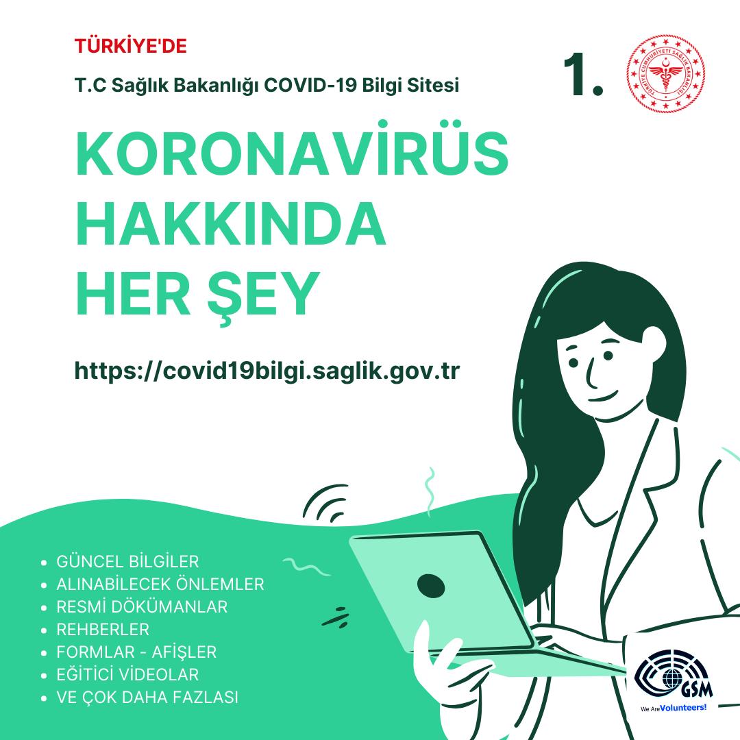 COVID-19'la İlgili Her Şey 2 Web Sitesinde!